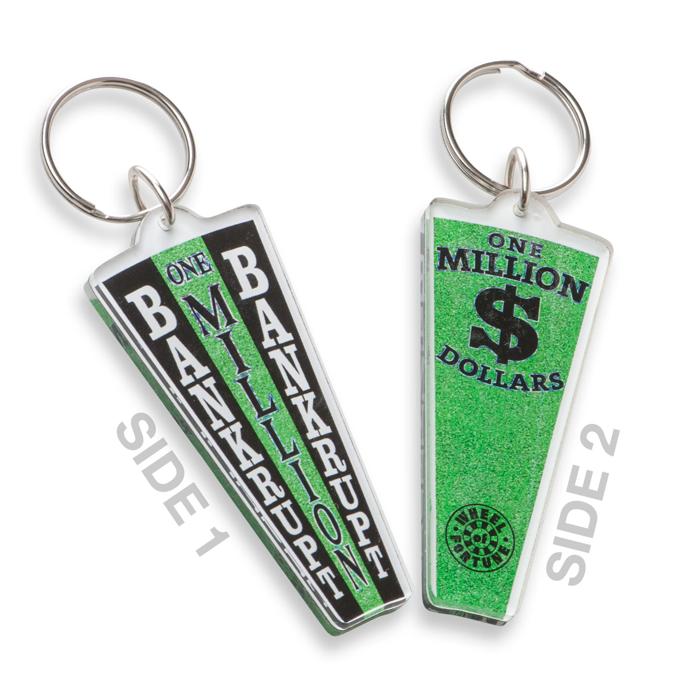Million Dollar Wedge Keychain