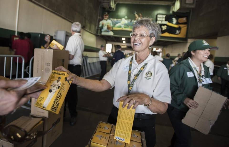Oakland A's give away Sean Doolittle gnomes on gameday