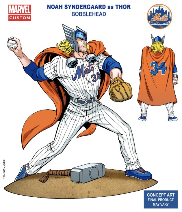 Noah Syndergaard as Thor, Bobblehead