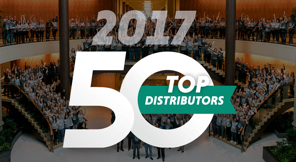 2017 Top 50 Distributors, BDA