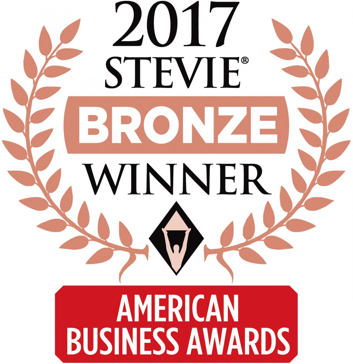 BDA, 2017 Stevie Bronze Winner