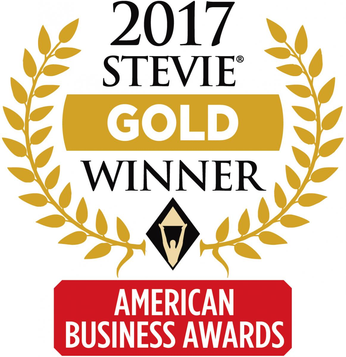 BDA, 2017 Stevie Gold Winner